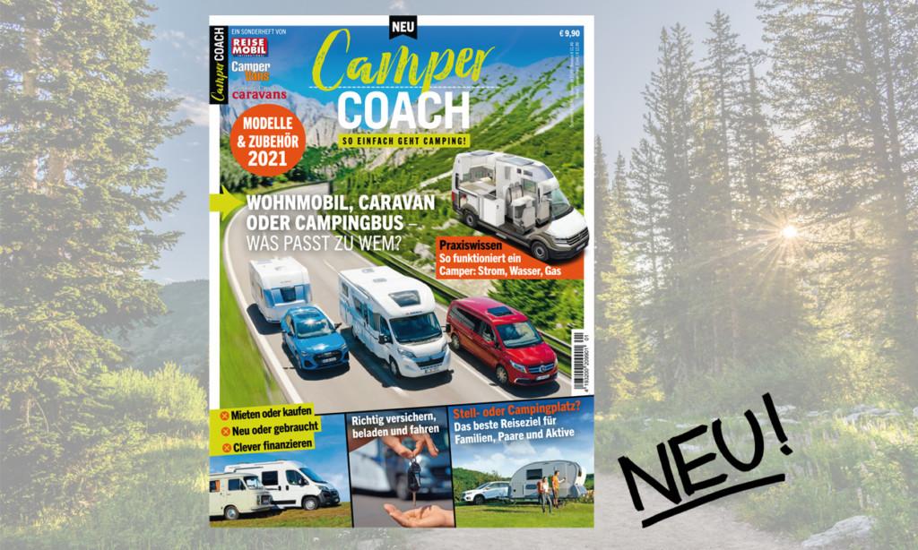 Der neue XL-Ratgeber CamperCoach