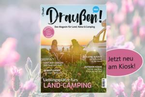 Draußen Magazin für Landcamping